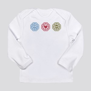 Peace Love Lost [dh_i] Long Sleeve Infant T-Shirt